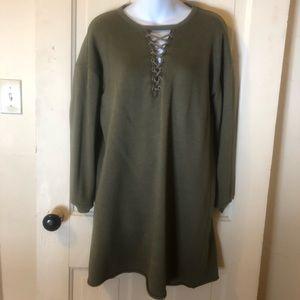 Women's M AE sweatshirt dress